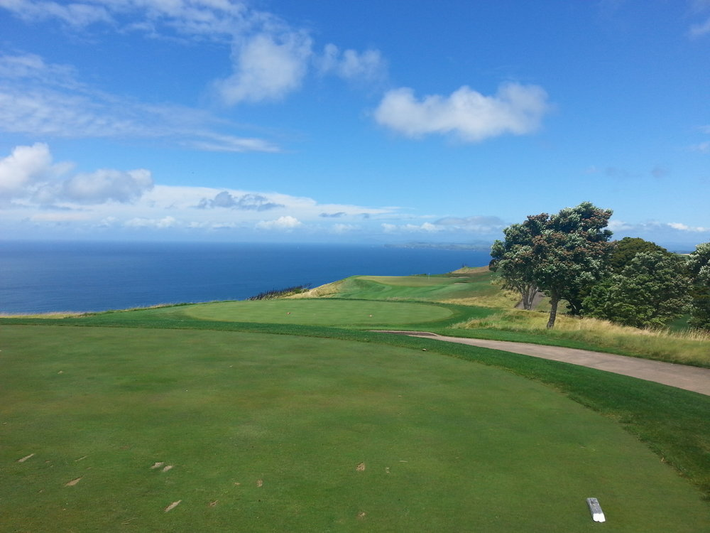 The memorable views at Kauri Cliffs