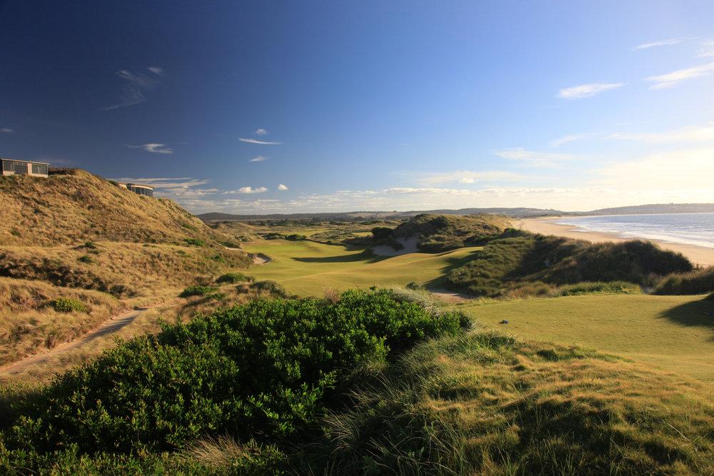 Barnbougle Golf Course in Tasmania, Australia