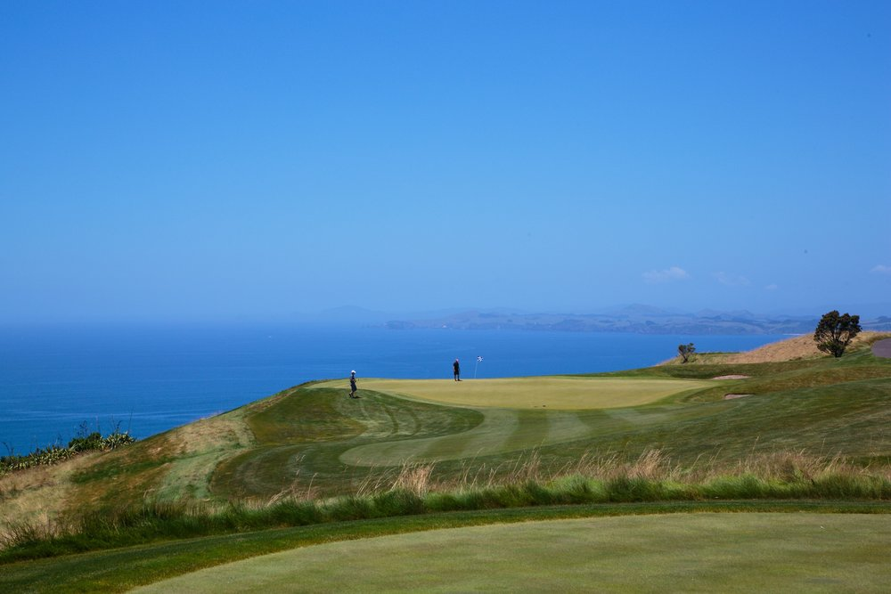Kauri Cliffs - New Zealand's premier golfing resort.