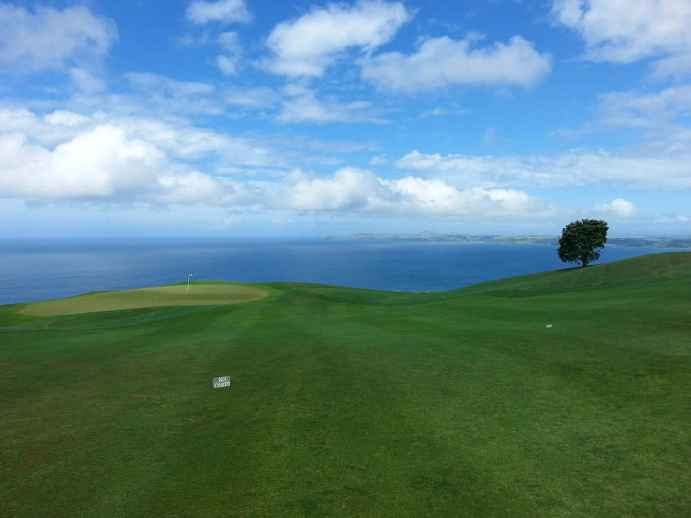 Beautiful New Zealand Golf Scenes