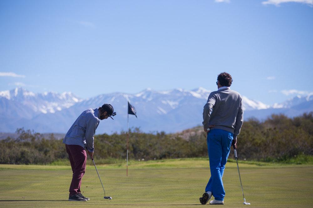 Golf in Mendoza, Argentina