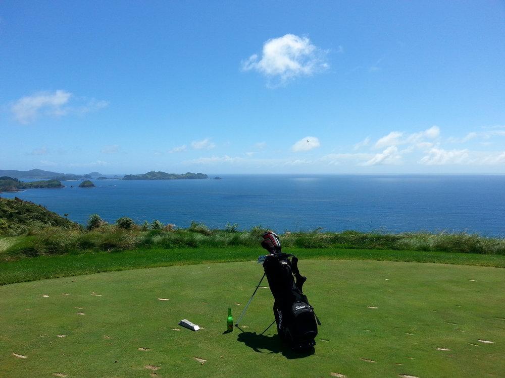 Stunning natural views in golf heaven!