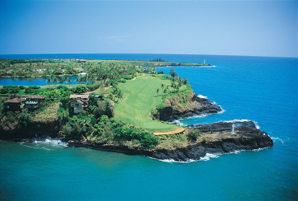Where is this stunning golf course in the world?