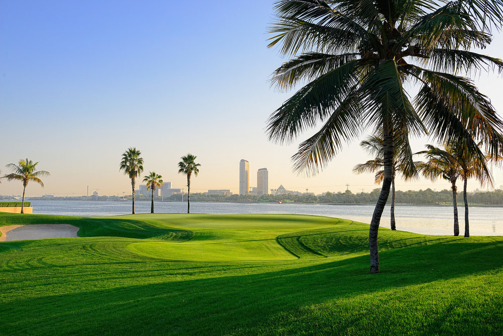 The 5th Hole at the Dubai-Creek-Golf-&-Yacht-Club