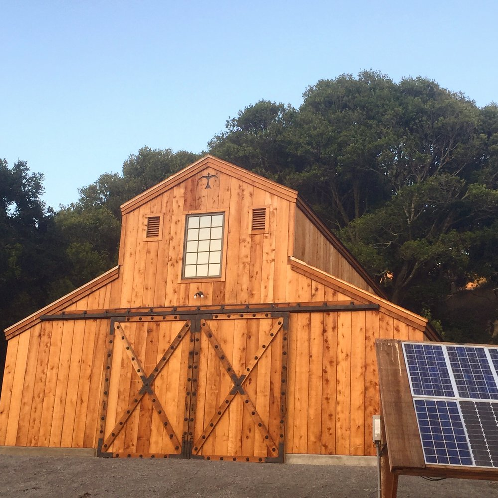 VINEYARD BARN -  WEST MARIN CA