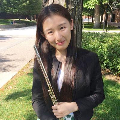 Zixuan Yan, flute