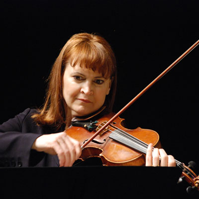 Carolyn Boulay, violin
