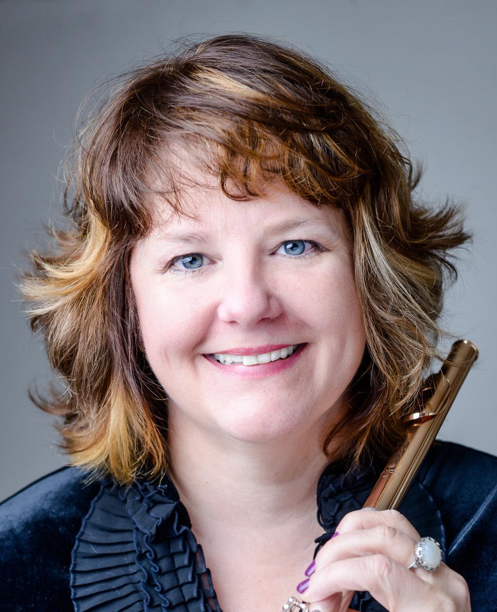 Amy Morris, flute