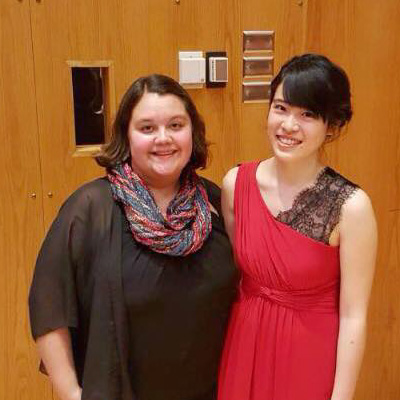 Primavera Duo: Lindsay Schlemmer, cello; Alison Lee, piano (Thursday Musical debut)