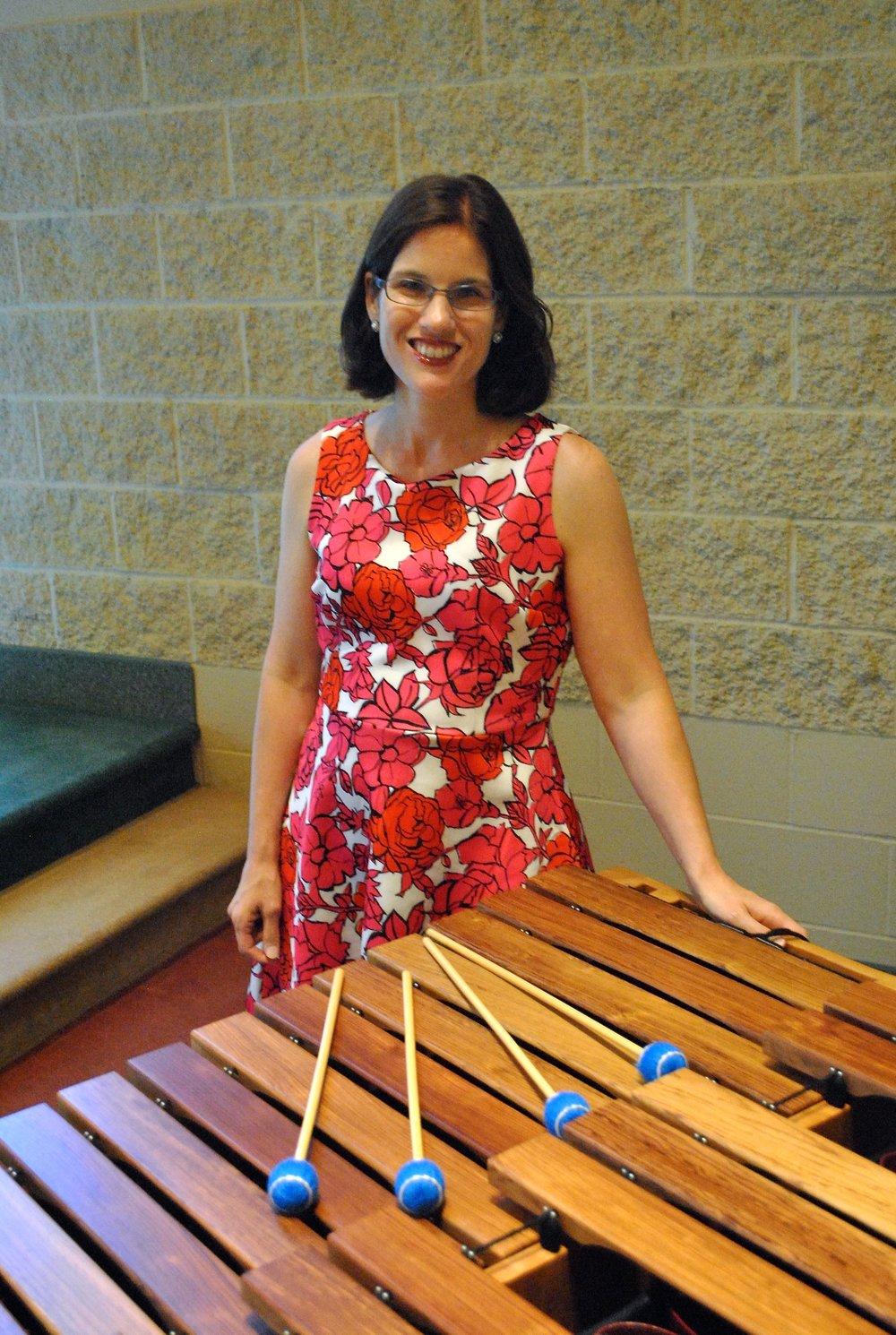 Caitlin Lucic, marimba