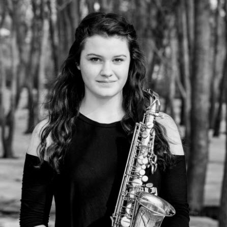 Rebecca Tank , saxophone  Young Artist Scholarship Competition Winner 2017