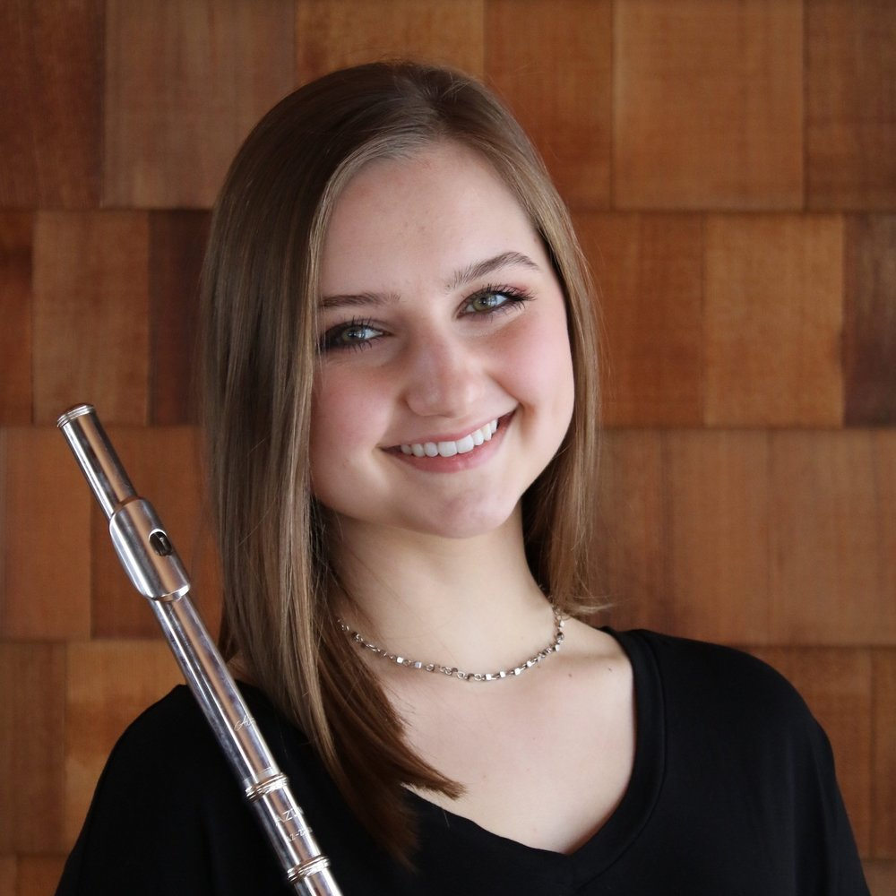 Elizabeth Kleiber , flute  Young Artist Scholarship Competition Winner 2017