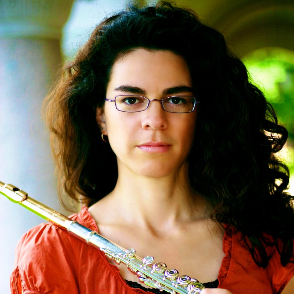 Catherine Ramirez,  flute  Thursday Musical Debut