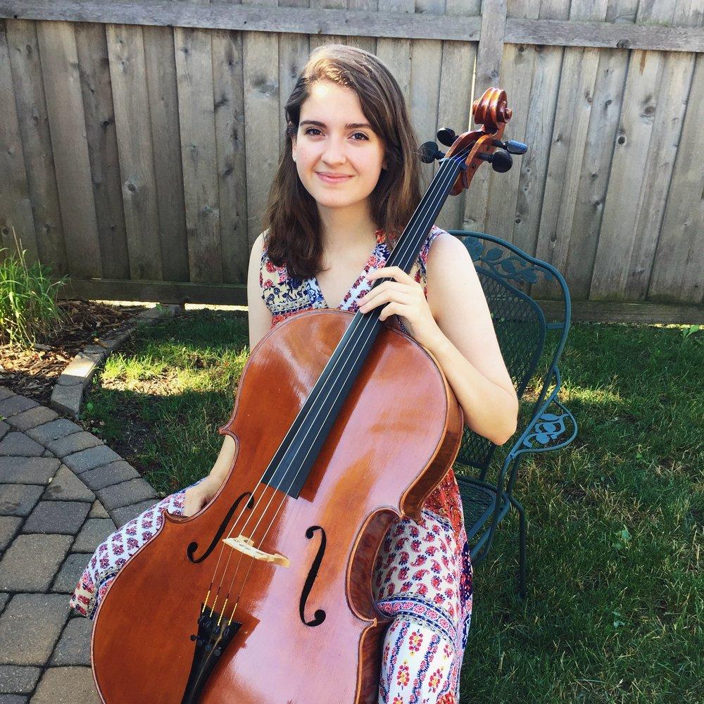 Arianna Wegley,  cello
