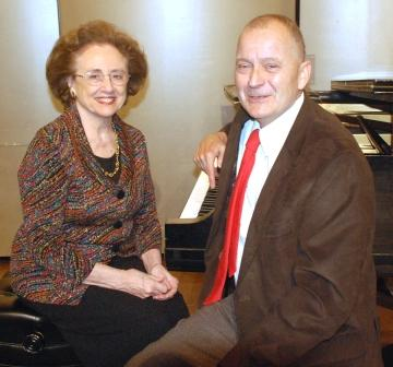 Jim Reilly,  tenor and  Beatrice Giere,  piano