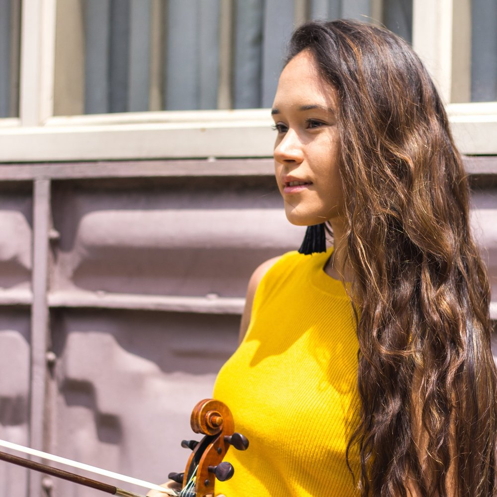 Sofia Schutte,  violin Young Artist Scholarship Competition Winner 2018