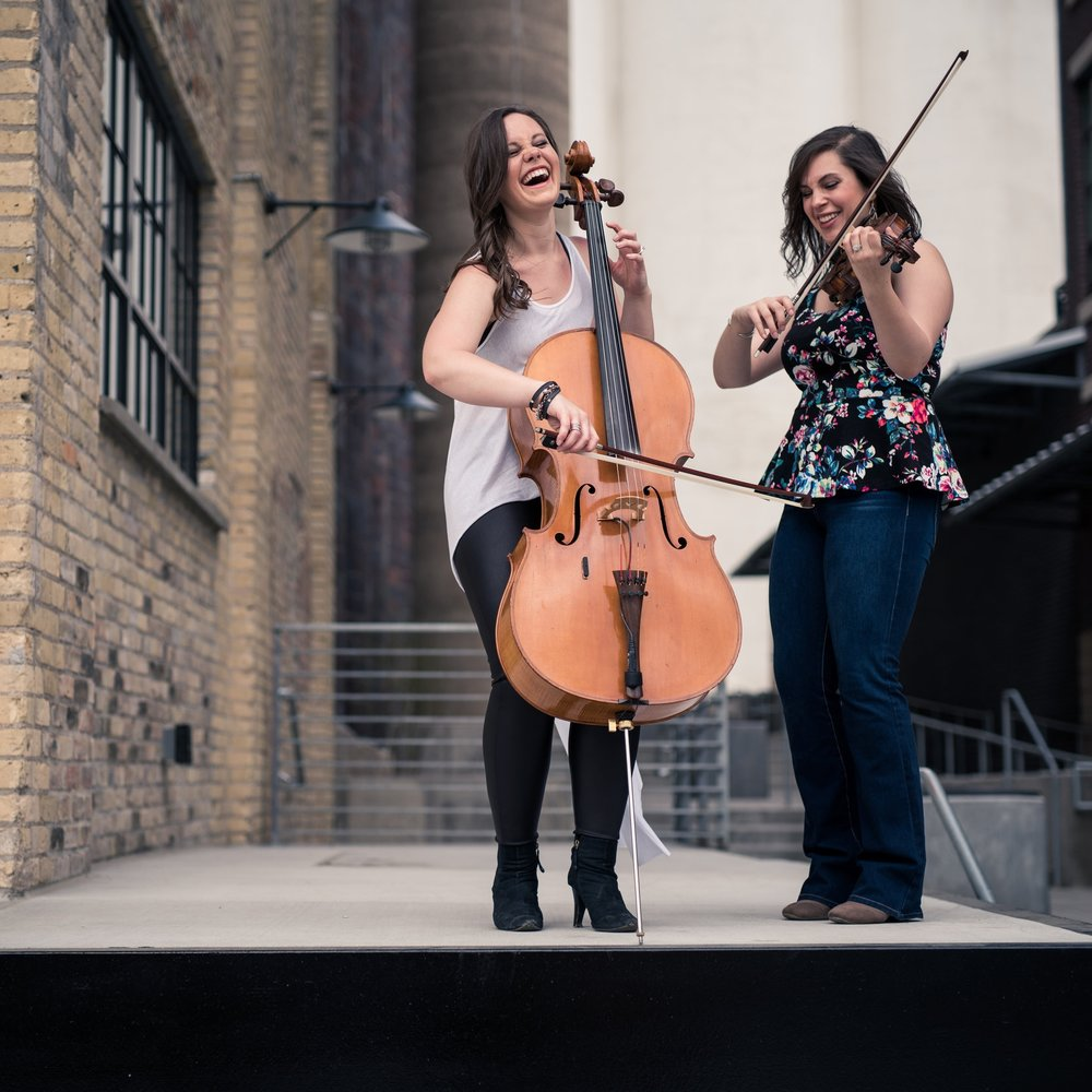 The OK Factor: Olivia Diercks,  cello and  Karla Colahan,  violin