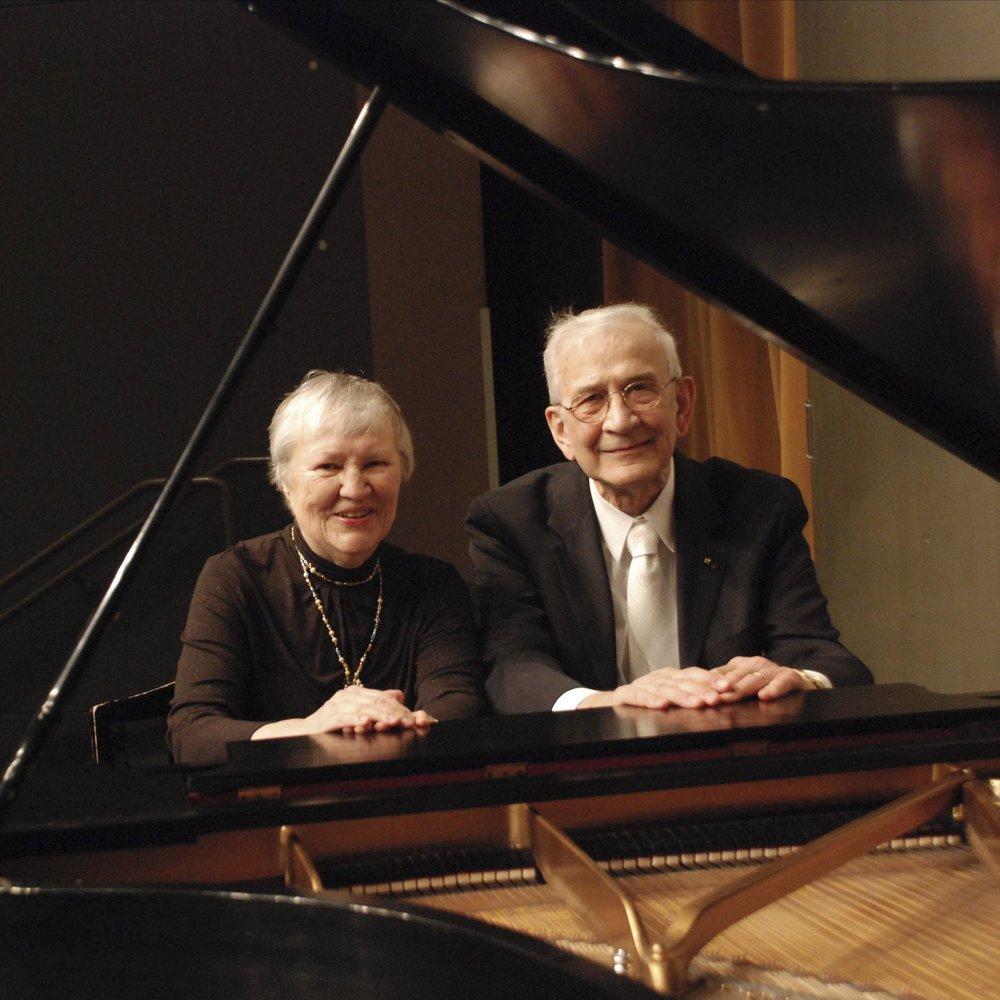 Paul and Helen Baumgartner,  piano duo