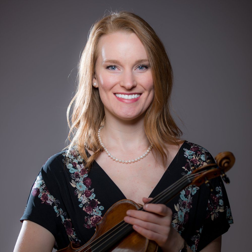 Lindsey Bordner, baroque violin  Thursday Musical Debut