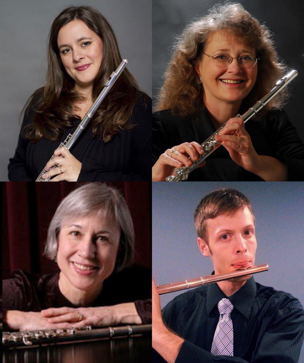 FluteSpiration: Trudi Anderson,   Mark Brudevold, Peggy Doerrie,   Sandra Sheih