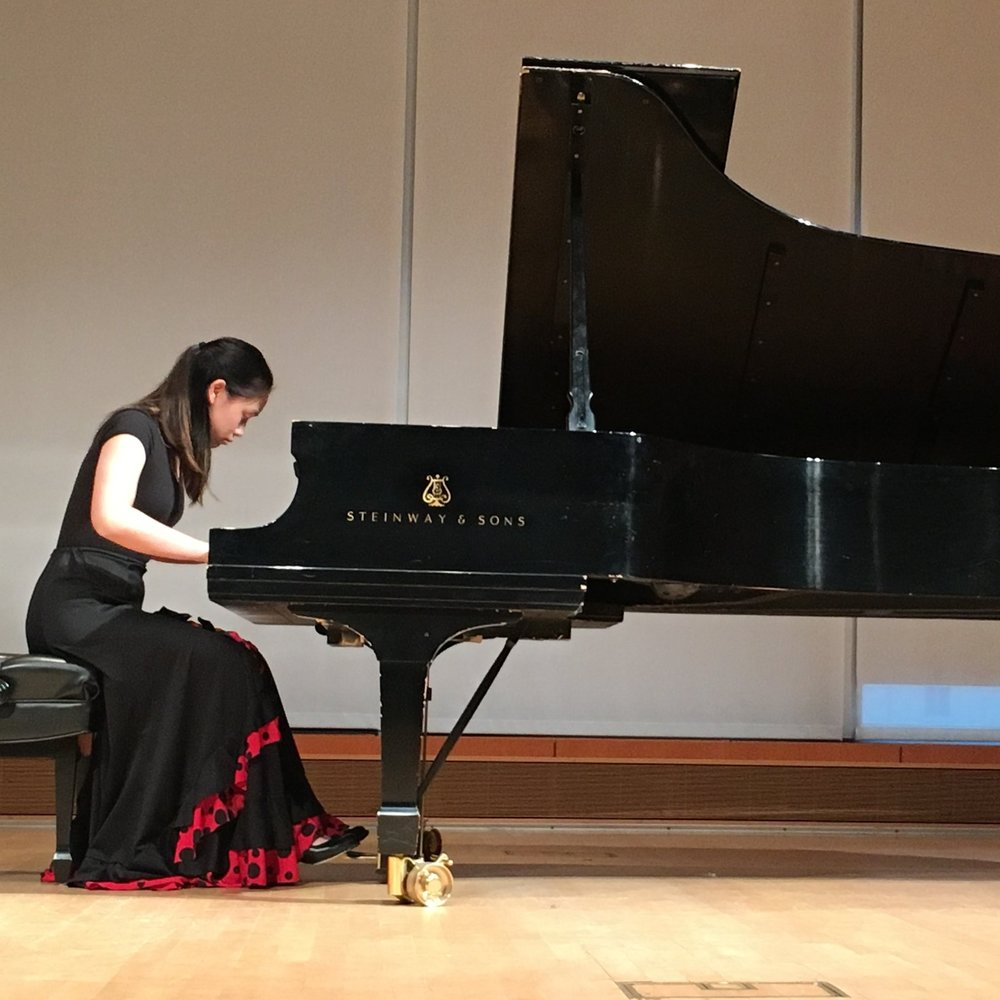 Kimberly Shen,  piano  Young Artist Scholarship Competition Winner 2018