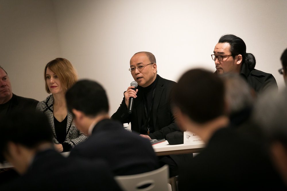 ADP Japanese Member Representative Takashi Yamaguchi on the Press Conference.jpg