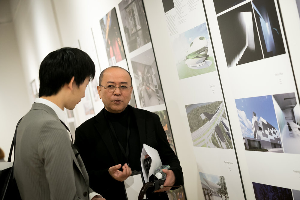 ADP Japanese Member Representative Takashi Yamaguchi being Interviewed.jpg