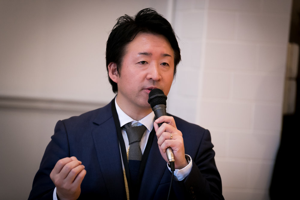 International Sales _ Branding Manager of MARUNI WOOD INDUSTRY - Munetoshi Koda Giving a Talk .jpg
