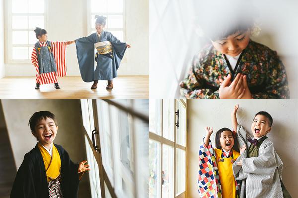 - 《こだわりのおしゃれな衣装》衣装のほとんどを東京で買い付け、七五三、十三祝いの着物、髪飾りは完全オリジナル。クッポグラフィー沖縄店のスタジオに合う用、小物にまでこだわってつくった着物はクッポグラフィーでしか着ることはできません。