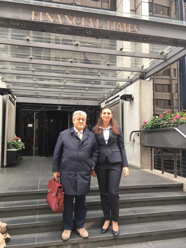 Granarolo's President at Financial Times