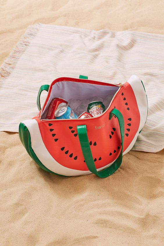 Super chill cooler bag - watermelon $32