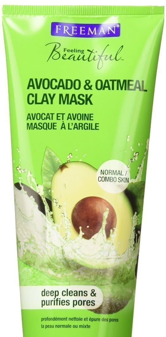 Feeling Beautiful: Oatmeal and Avocado Clay Mask