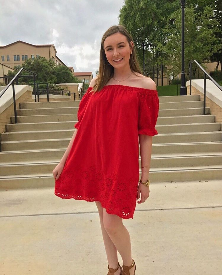 Red Hayden Dress $44