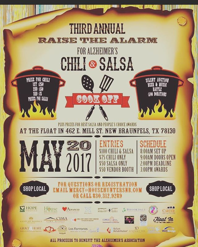 Come out and try the salsa 💃🏼 , chili 🌶 , and clothes!
