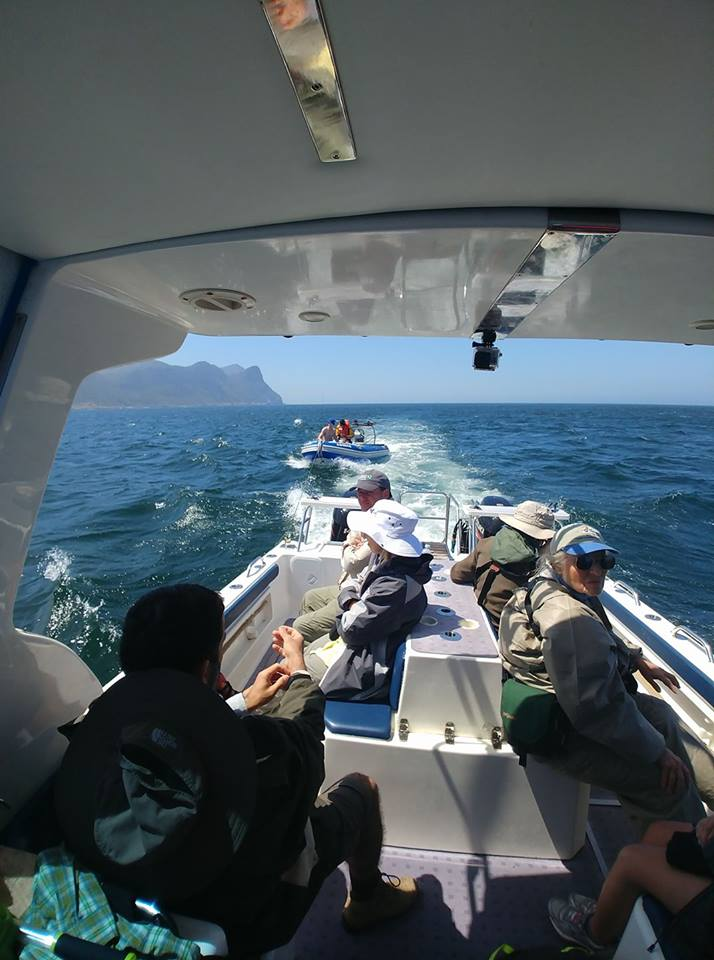 Assisting a recreational fishing vessel in False Bay, South Africa!
