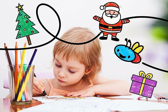 We still have some free Christmas drawing lessons! Download our app and try them out! #howtodraw #art🎨