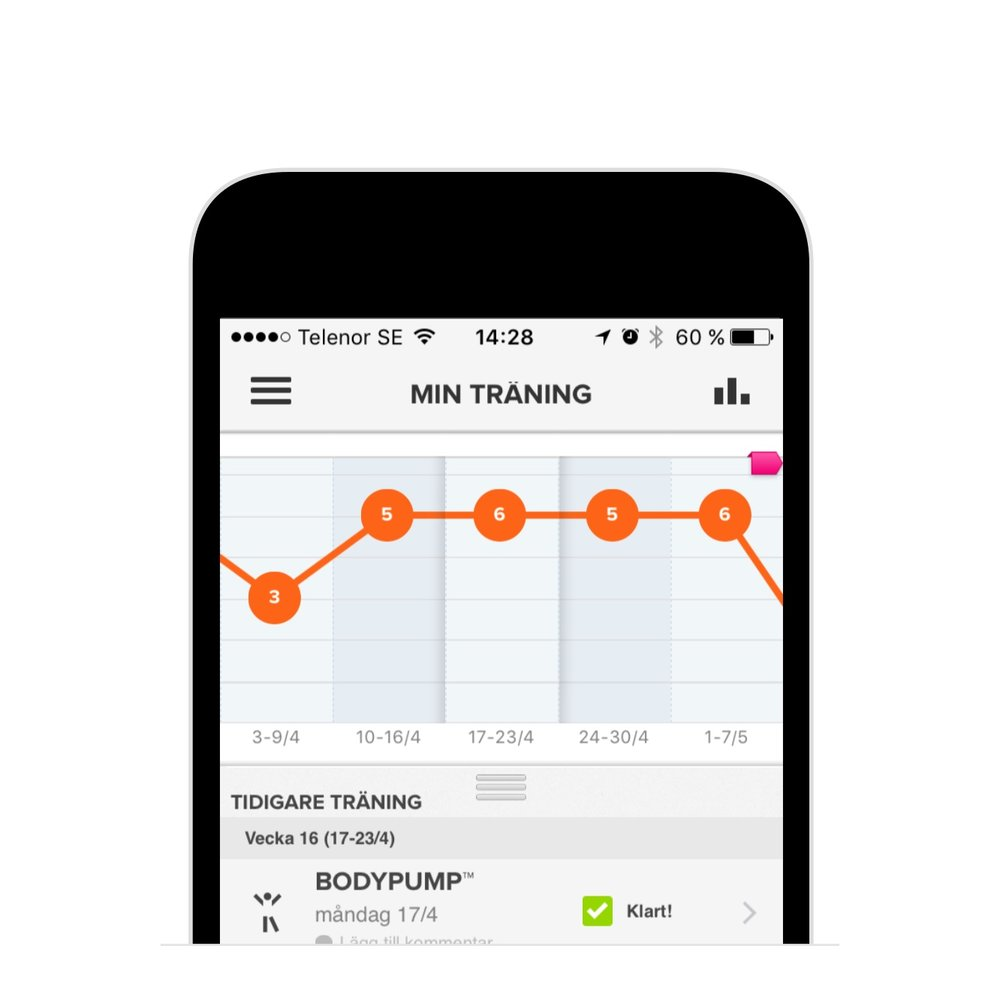 SATS - Mobile gym class booking