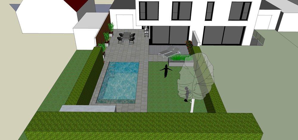 3D   wir arbeiten für Sie 3 Dimensional! Der Gartenraum wird erfassbar, begreifbar, erlebbar. Die Vorfreude wird immer größer.