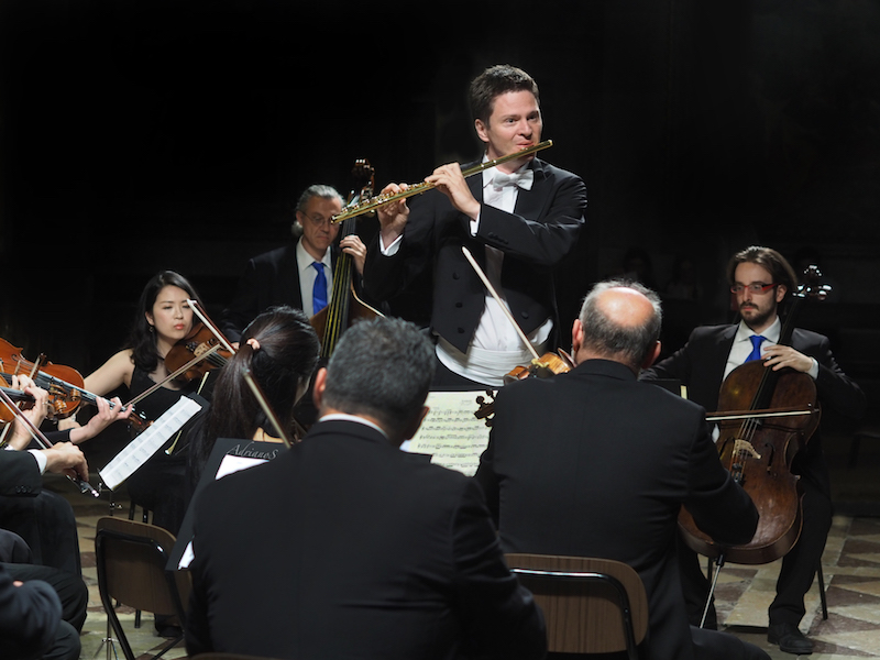 Mozart Concerto in Perugia - Photo by Adriano Scognamillo