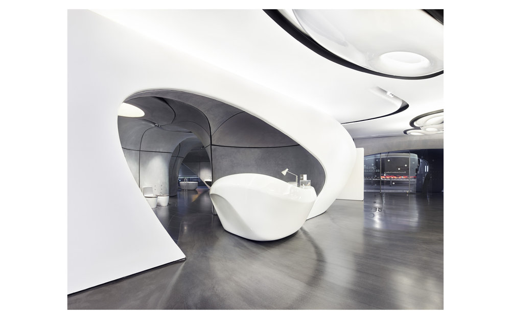 Piet Niemann Architectural Photographer Hamburg Germany Nijmegen Netherlands / Architekturfotograf Hamburg Deutschland Nimwegen Niederlande / ROCA LONDON GALLERY BY ZAHA HADID ARCHITECTS, LONDON