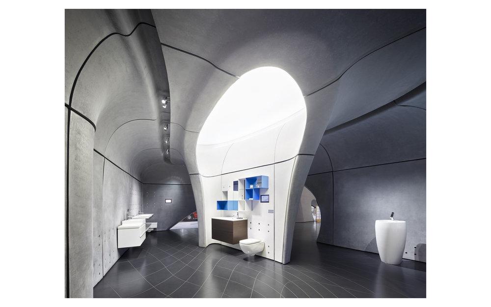 Piet Niemann Architectural Photographer Hamburg Germany Nijmegen Netherlands / Architekturfotograf Hamburg Deutschland Nimwegen Niederlande / ROCA LONDON GALLERY BY ZAHA HADID ARCHITECTS, LONDON