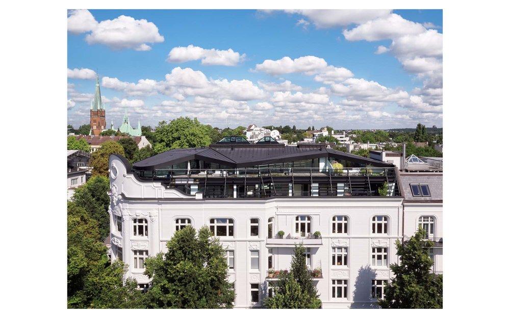 Piet Niemann Architectural Photographer Hamburg Germany Nijmegen Netherlands / Architekturfotograf Hamburg Deutschland Nimwegen Niederlande / Über den Dächern von Hamburg SNAP Architekten