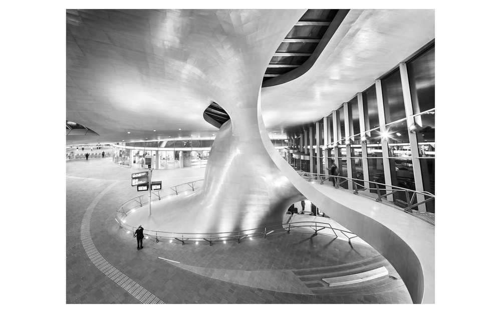 Piet Niemann Architectural Photographer Hamburg Germany Nijmegen Netherlands / Architekturfotograf Hamburg Deutschland Nimwegen Niederlande / ARNHEM CENTRAAL CENTRALSTATION BY UNSTUDIO AMSTERDAM