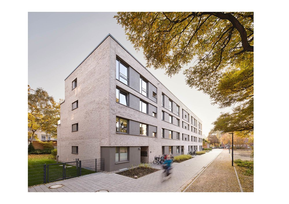 Piet Niemann Architectural Photographer Hamburg Germany / Architekturfotograf Hamburg Deutschland / Greencity Hohenfelde by Coido architects