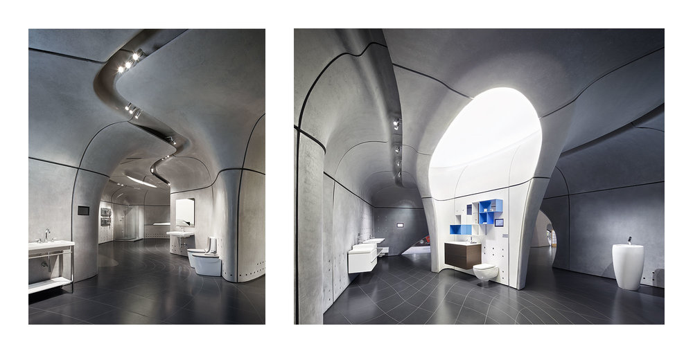 Piet Niemann Architectural Photographer Hamburg Germany / Architekturfotograf Hamburg Deutschland / ROCA LONDON GALLERY BY ZAHA HADID ARCHITECTS, LONDON