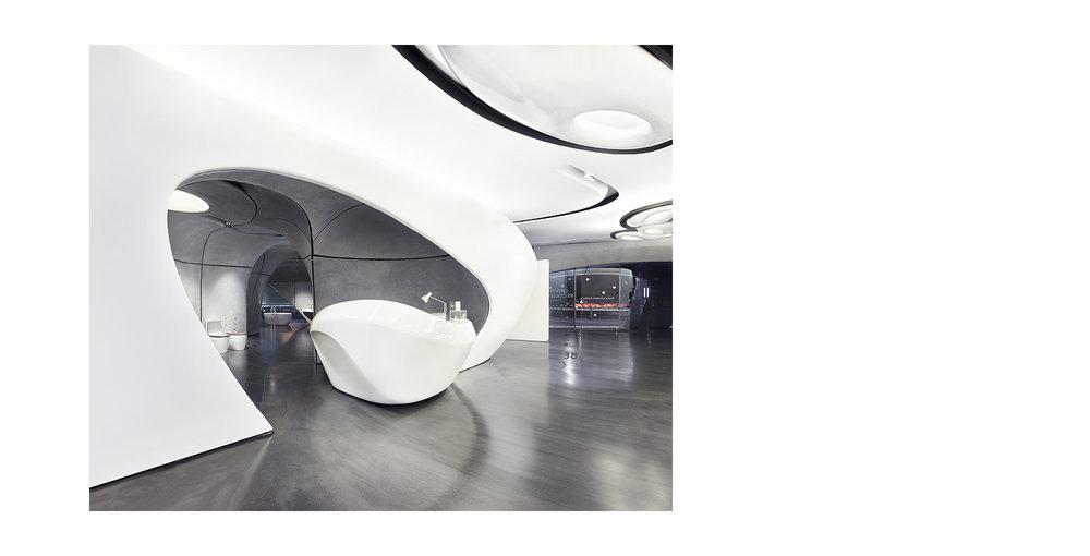 Piet Niemann Architectural Photographer Hamburg Germany / Architekturfotograf Hamburg Deutschland / ROCA LONDON GALLERY BY ZAHA HADID ARCHITECTS, LONDON