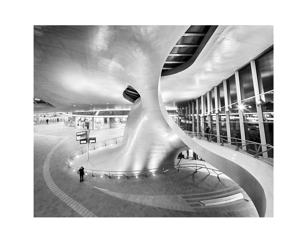Piet Niemann Architectural Photographer Hamburg Germany / Architekturfotograf Hamburg Deutschland / ARNHEM CENTRAAL CENTRALSTATION BY UNSTUDIO AMSTERDAM