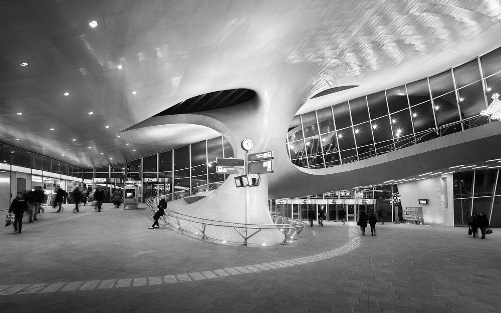 Piet Niemann Architectural Photographer Hamburg Germany / Architekturfotograf Hamburg Deutschland / ARNHEM CENTRAAL CENTRALSTATION BY UNSTUDIO AMSTERDAM