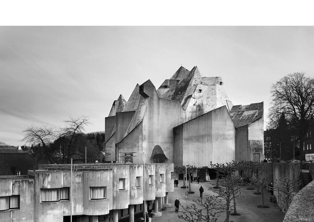 Piet Niemann Architectural Photographer Hamburg Germany / Architekturfotograf Hamburg Deutschland / MARIENDOM ZU NEVIGES GOTTFRIED BÖHM VELBERT BRUTALISMUS / SOS BRUTALISM