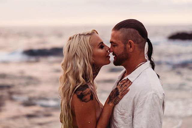 Honored to capture this beautiful married couple!  @jamiepchapman  such a pleasure meeting you and keep crushing it at modeling!  @lelandbchapman thanks again  for making the time to shoot 🤙🏽. Sending blessings on all your upcoming adventures!!! #bountyhunting Makeup: @themadameglam • • #hawaii #hawaiiphotographer #bigislandphotographer #travelingphotographer #intimatephotography #model #portraitphotography #portraitmood #featurepalette  #rsa_portraits #makeportraits #profile_vision #top_portraits #life_portraits #postthepeople #quietthechaos #2instagood #way2ill
